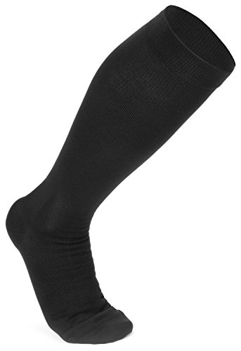 LadyLuxe Women's Compression Socks: Premium Knee High Support Stockings For Ladies. Guaranteed Best Hose For Pain, Medical Nurses, Running, Travel, Maternity, Pregnancy, Tights, & (Badass Characters)