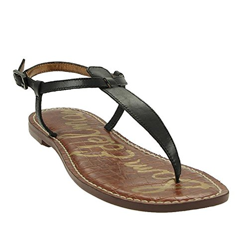Sam Edelman Gigi 25956008 Damen Sandalen Schwarz (Black Atanado Leather)
