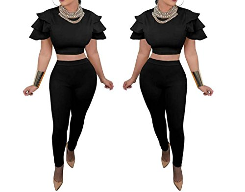 Noir XIAOXAIO Costume Manches Noir Fly M 2018 Jaune NewWomens Taille Couleur nYZBXB