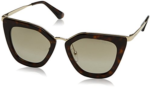 Marrón PR CINEMA Brown Light Tortoise Gold Sonnenbrille 17SS Prada xIEFBRqR