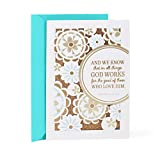 Hallmark Mahogany Religious Thinking of You Card (God Works for the Good)