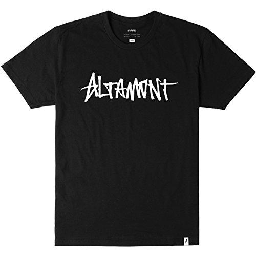 Altamont Tee (Altamont Men's One Liner T-Shirt, Black, Large)