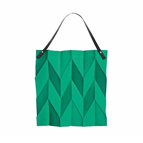 iittala Iittala X Issey Miyake Tasche 42 x 43cm, dunkelgrau smaragd
