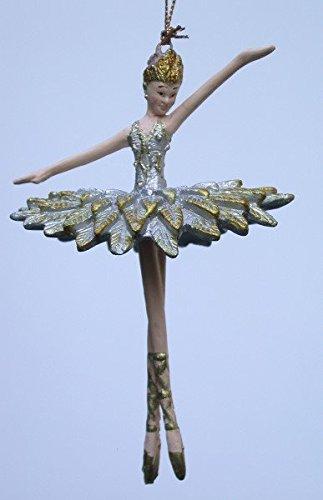 Decorazioni Natalizie Ballerine.Ballerina Figura Ballerino Fatti A Mano Con Decorazioni
