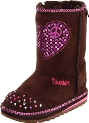 Skechers Kids 10205N Keepsakes Flash and Fancy Light-Up Boot