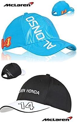 McLaren Honda F1 2015. Gorra del equipo de Fernando Alonso y gorra ...