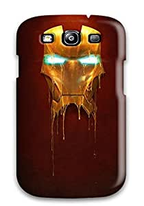 Galaxy S3 Case Cover Iron Man Case - Eco-friendly Packaging