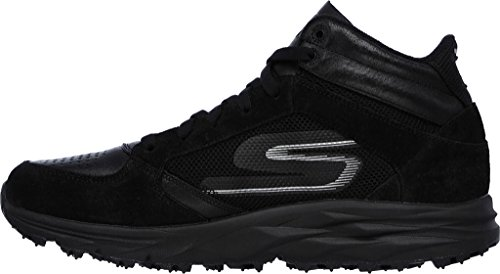 Skechers Go Trail Escape Women Scarpa Da Trekking Punta Rotonda In Camoscio Nero