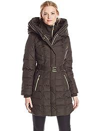 Women's Down Coat with Hood