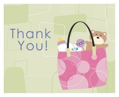 Mod Mom Baby Shower Thank You Notes 8ct by Party America