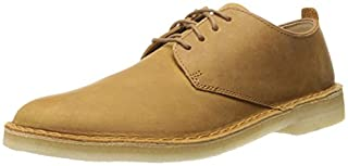 CLARKS Men's Desert London, Mustard Leather, 8.5 D - Medium (B00MMYQ4ZC) | Amazon price tracker / tracking, Amazon price history charts, Amazon price watches, Amazon price drop alerts
