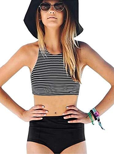 crop top bathing suit - 1