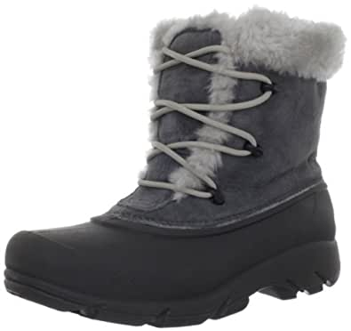 Sorel Women's Snow Angel Lace Boot,Charcoal,5 M US