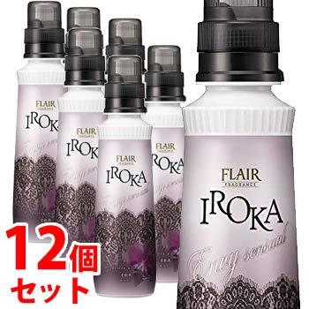 《セット販売》 花王 フレア フレグランス イロカ IROKA エンヴィ センシュアル 本体 ミステリアスオーキッドの香り (570mL)×12個セット 柔軟剤 Envy B07PSM1RB7