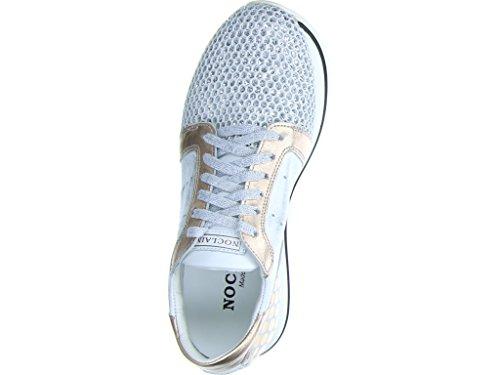 pour ville Silber femme 2 lacets Noclaim Carol à de Chaussures xUwqHq16