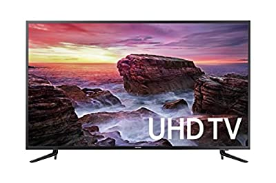 "Samsung Electronics UN58MU6100FXZA Flat 58"" LED 4K UHD 6 Series SmartTV 2017"