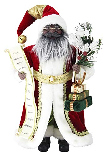 Figurines Santa Black (Windy Hill Collection 16