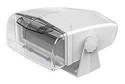 Dual Electronics Mh200 Transparent Marine Waterproof Radio Housing Unit Single Din 0
