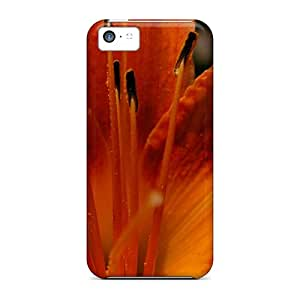 New Shockproof Protection Cases Covers For Iphone 5c/ Light Fresh Orange Cases Covers