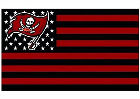 e0bcb4e3 Amazon.com : NFL Tampa Bay Buccaneers Stars and Stripes Flag Banner ...