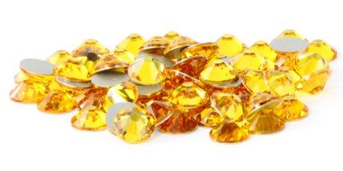 (SS20 Swarovski Rhinestones - Sunflower (1 Gross = 144 pieces))
