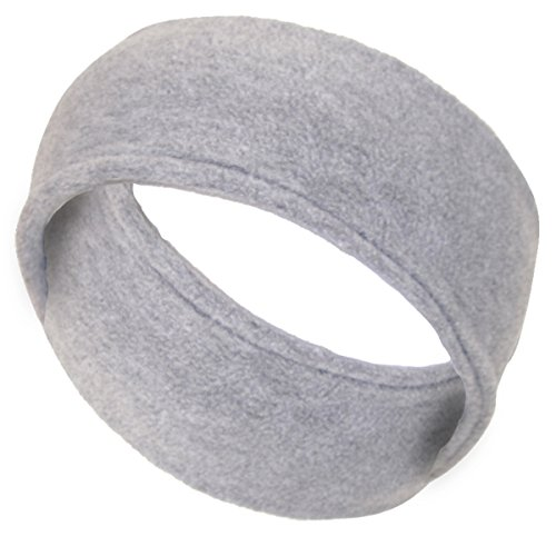 Womens Double Layer Micro Fleece Headband