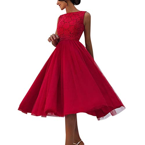 Willow S Women Fashion Solid Sequin Prom V Neck Party Ball Gown Lace Slim Vintage Evening Bridesmaid Long ()