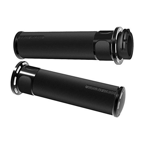 Powersports Mirror Cap - Arlen Ness 07-301 Black Fusion Grip