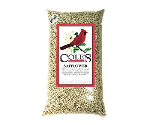 2 PACK Safflower 20 lbs. + Frt by Cole's Wild Bird Products Co