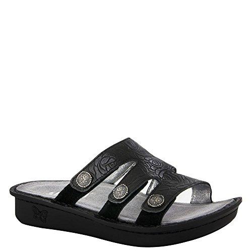Alegria Womens Venice Slide Sandal Cowgirl Tar Size 37 EU (7-7.5 M US Women)
