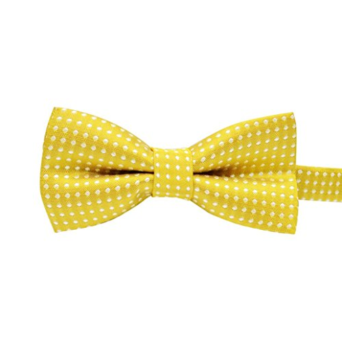 (Hot Sale!BIG PROMOTION!Dog Clothes❤️ZYEE❤️ Fashion Cute Dog Puppy Cat Kitten Pet Toy Kid Bow Tie Necktie Clothes (Yellow))