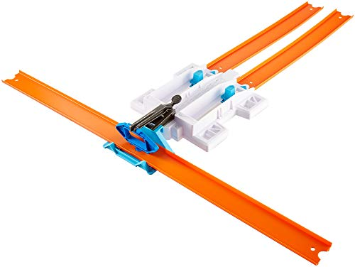 - Hot Wheels Track Builder 2-Lane Launcher Playset