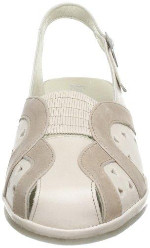 Comfortabel 720072 - Sandalias de cuero para mujer Beige (Beige (pearl 8))