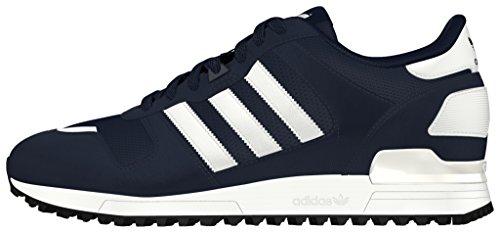 Adidas Originali Mens Originali Zx 700 Scarpe Da Ginnastica Collegiate Us5 Blu