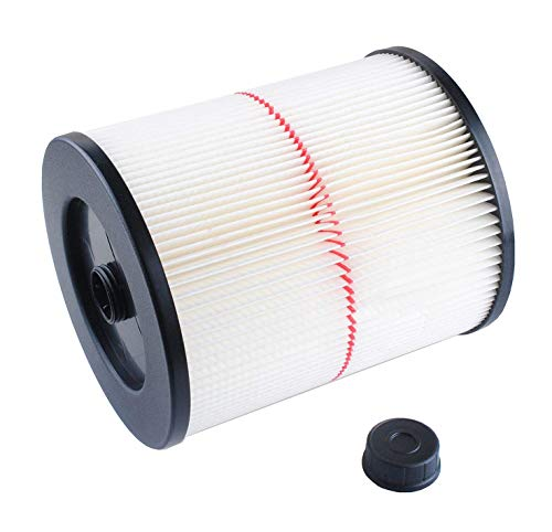 Wet 125 Dry Filter - O-Home Replacement Filter Compatible with Shop Vac Craftsman 17816 9-17816 Wet Dry Vacuum Air Cartridge Filter for 5 Gallon Vacuum Cleaner, 1 Pack