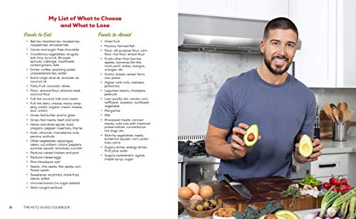 The Keto Guido Cookbook: Delicious Recipes to Get Healthy and Look Great