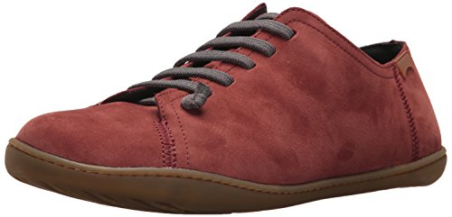 Camper Men's Peu Cami 17665 Sneaker, Red, 39 M EU (6 US) - Camper Leather Sneakers