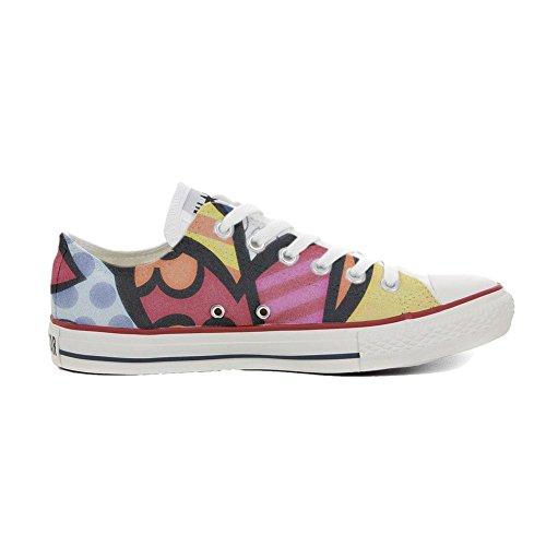 mys Converse All Star Chaussures Coutume Mixte Adulte (Produit artisanalPersonnalisé) Slim Colors