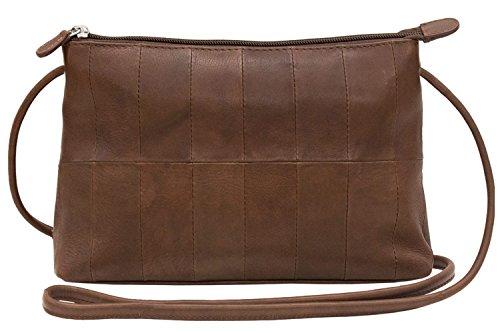 ili body 6024 Handbag Cross Leather Toffee xn8OxAv