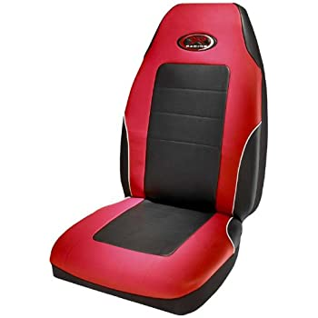 Amazon.com: Plasticolor 006552R04 R Racing Stage III Red Vinyl Seat