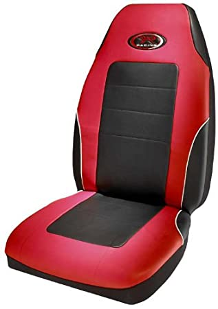 R Racing Stage III Red Vinyl Seat Cover