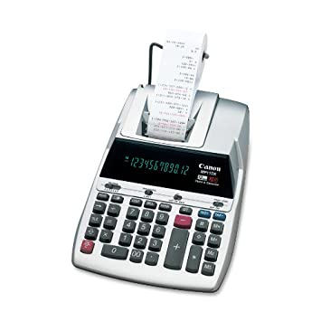 Canon Mp11dx 12 Digit Printing Calculator With Fluorescent Display