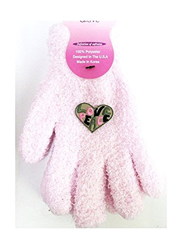 Confetti G7 Peace Love Heart Cozy Gloves