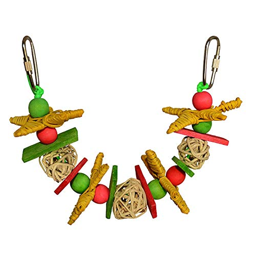 Image of Super Bird Creations Xmas Garland Small Bird Toy 11