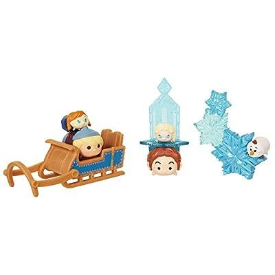 Tsum Tsum Disney Tsnowy Fun 8 Piece Frozen Theme Collectible Set Figures
