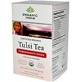 Organic India Tea Tulsi Pmgrnt Grn