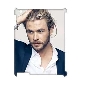 C-EUR Brad Pitt Pattern 3D Case for iPad 2,3,4