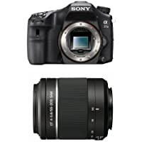 Sony A77II Digital SLR Camera - Body Only with 55-200mm Lens