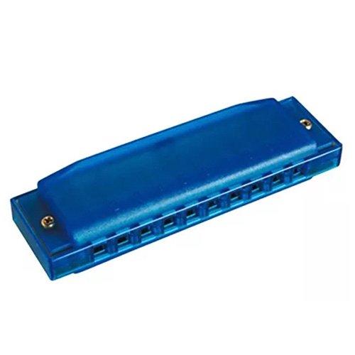 ARMONICA DIATONICA - Hohner (510/20B) Happy Blue (Nota Do) (20 Voces) (Plastico) (Azul) Beginner