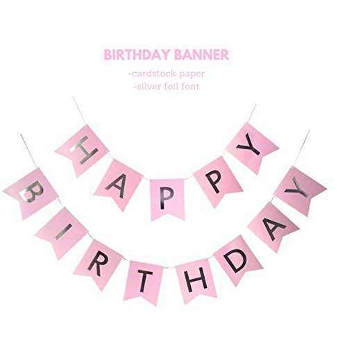 birthday decorations for women and girls